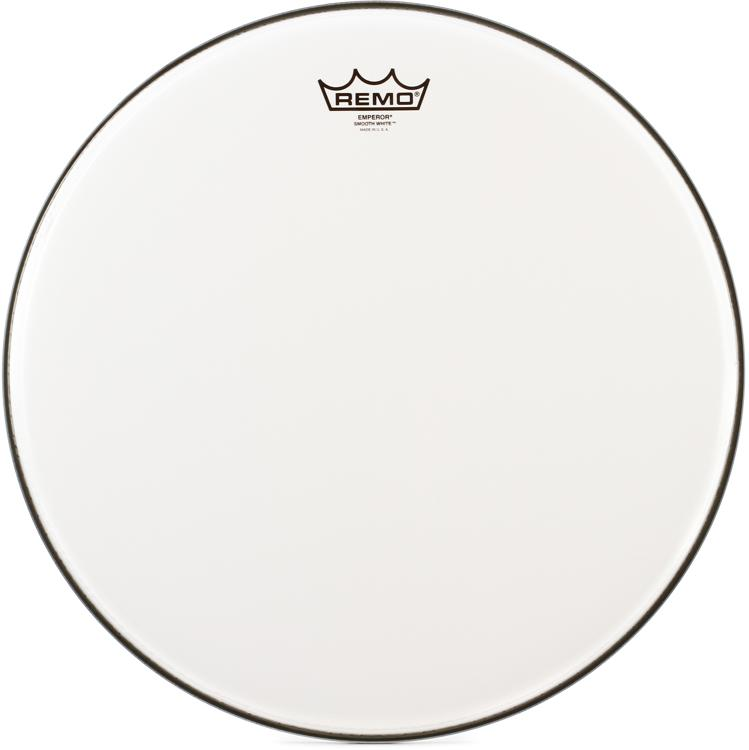 Remo Smooth White Emperor Drumhead - 16