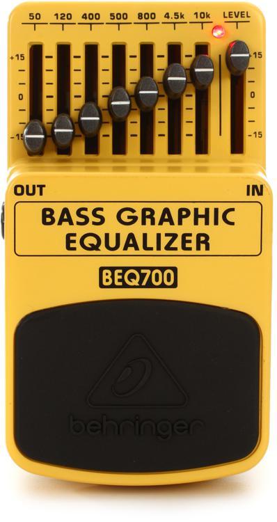 Behringer BEQ700 Bass Graphic Equalizer Pedal image 1