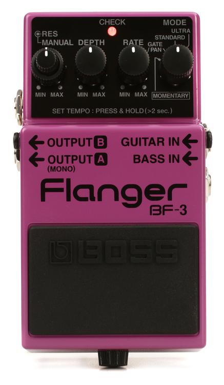 Boss BF-3 Flanger Pedal image 1