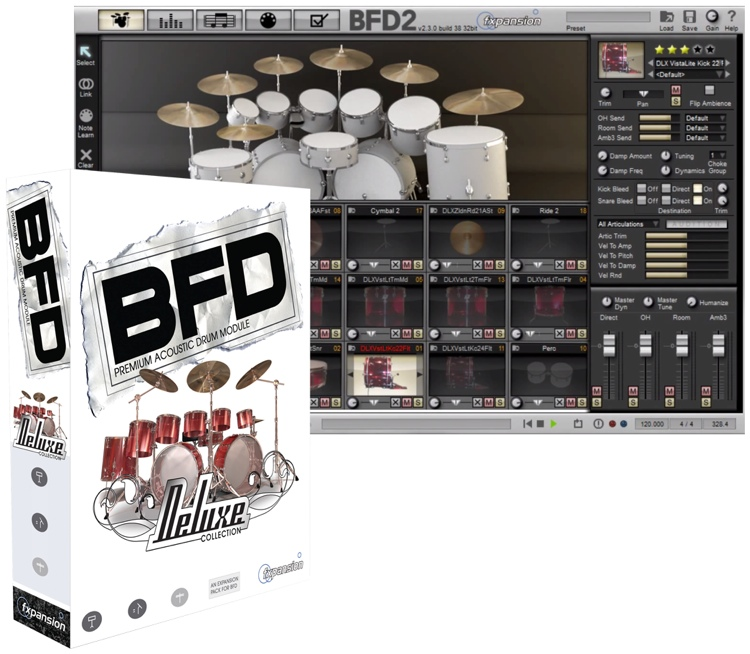 FXpansion BFD Expansion Pack - Deluxe Collection image 1