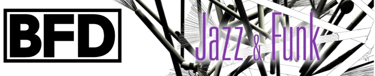 FXpansion BFD Jazz Funk Expansion Pack image 1