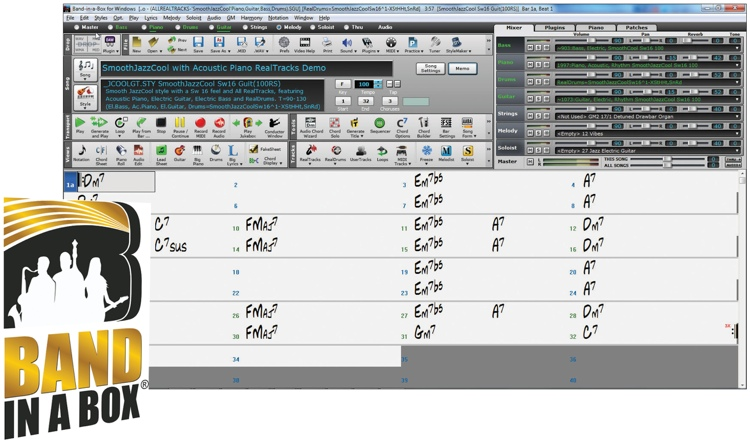 PG Music Band-in-a-Box EverythingPAK for Windows (boxed) image 1