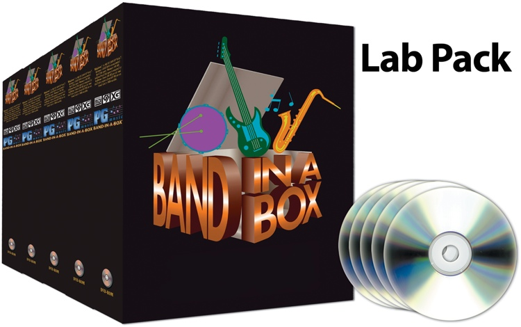 PG Music Band-in-a-Box for Mac -5-User Academic Lab Pack (boxed) image 1