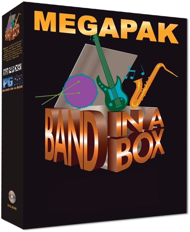 PG Music Band-in-a-Box MegaPAK for Mac - 5-User Academic Lab Pack (boxed) image 1