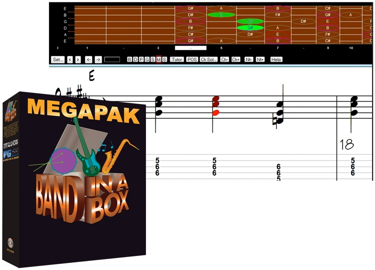 PG Music Band-in-a-box MegaPAK for Mac - 6-10 Seat Academic Site License (per seat) image 1
