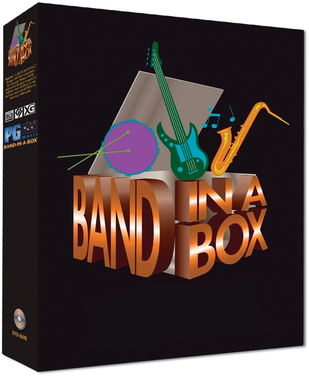 PG Music Band-In-A-Box for Mac - 6-10 Seat Academic Site License - per seat (boxed) image 1