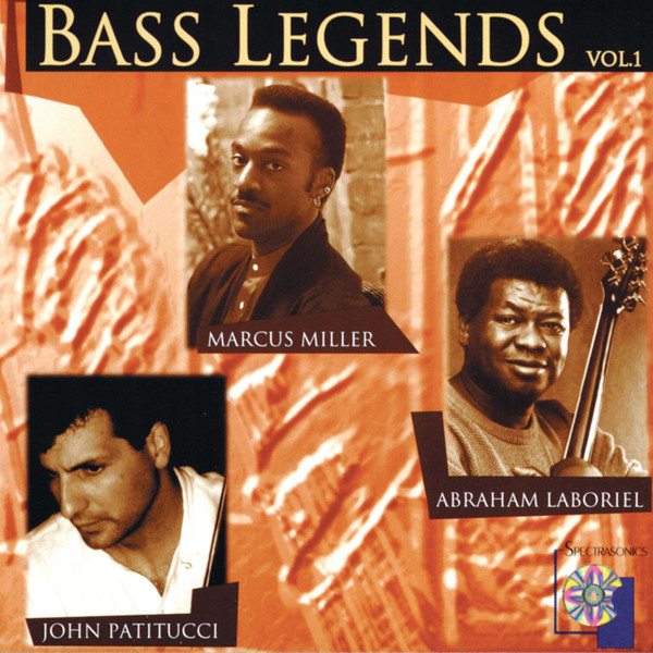 Spectrasonics Bass Legends Volume 1 - Audio CD image 1