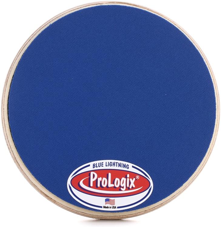 Prologix Percussion Blue Lighting Practice Pad - 6
