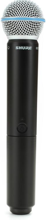 Shure BLX2/B58 Handheld Wireless Transmitter - Band H8 image 1