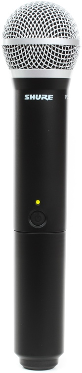 Shure BLX2/PG58 Handheld Wireless Transmitter - Band H8, 518-542MHz image 1