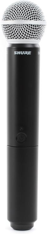 Shure BLX2/SM58 Handheld Wireless Transmitter - Band H8 image 1