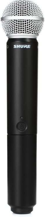 Shure BLX2/SM58 Handheld Wireless Transmitter - H9 Band image 1