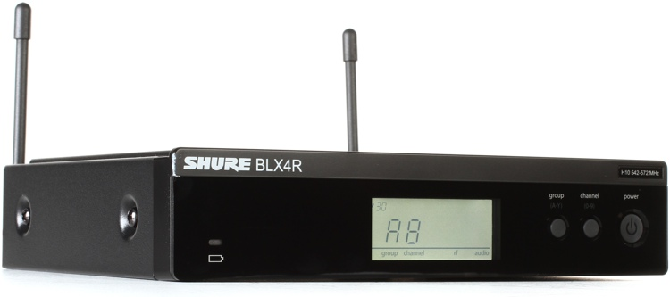 Shure BLX4R Rackmount Receiver - H10 Band image 1
