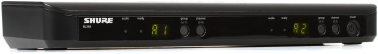Shure BLX88 Dual Channel Receiver - H10 Band image 1
