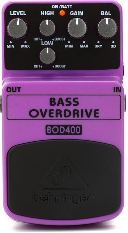 Behringer BOD400 Bass Overdrive Pedal image 1