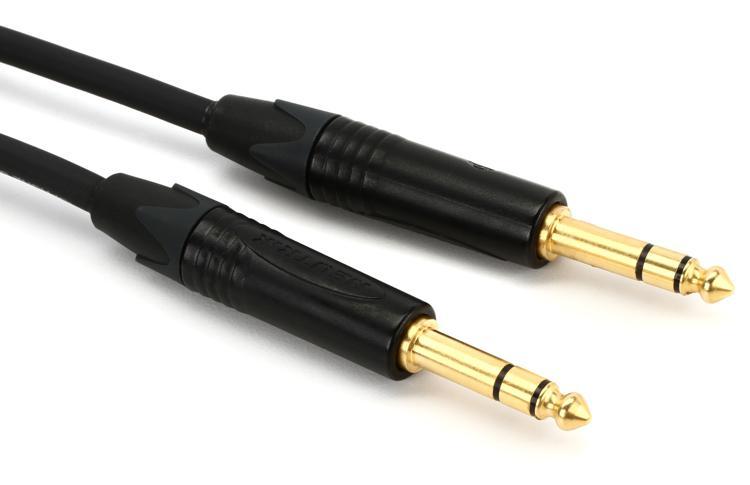 Pro Co Ameriquad TRS-TRS Cable - 10\' image 1