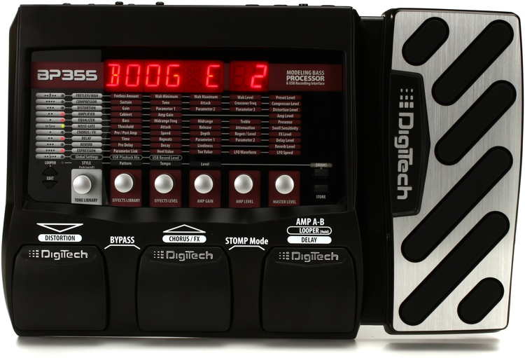 DigiTech BP355 Bass Multi-FX Pedal with USB image 1