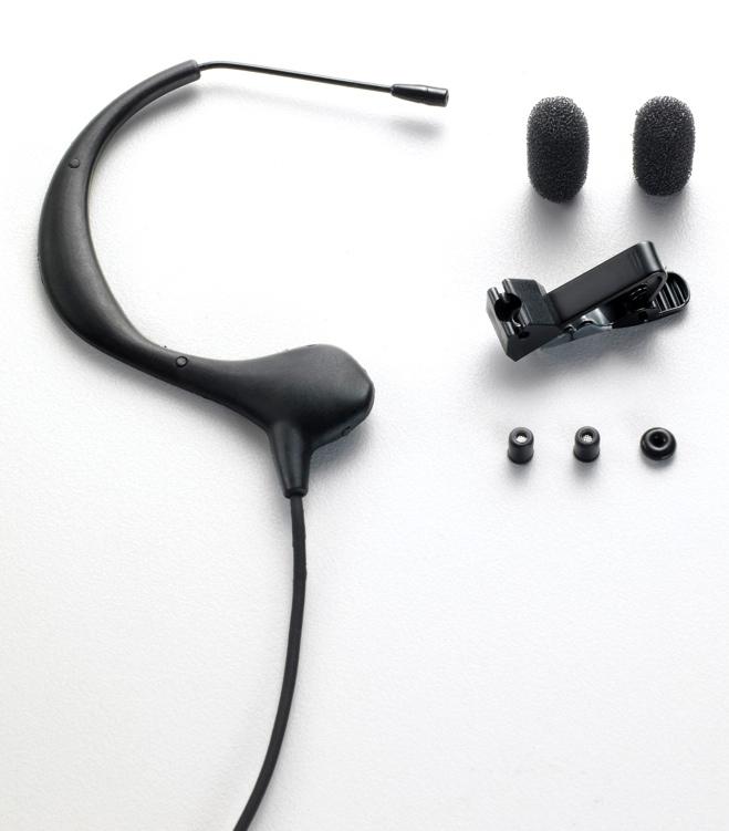 Audio-Technica BP893 MicroSet - Black, Shure termination image 1