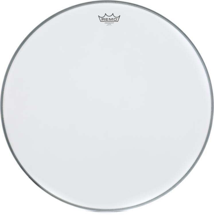 Remo Ambassador Bass Drumhead - 24
