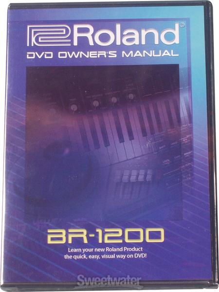 Boss BR-1200CD DVD Manual image 1