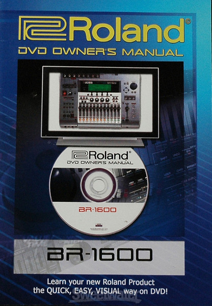 Boss BR-1600 DVD Owner\'s Manual image 1