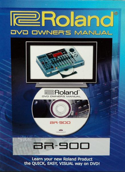 Boss BR-900 DVD Owner\'s Manual image 1