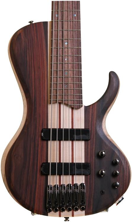 Ibanez BTB686SCNTF Bass Workshop - Natural Flat image 1