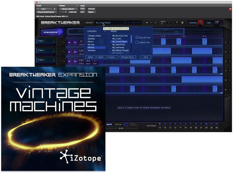 iZotope BreakTweaker Expansion: Vintage Machines image 1