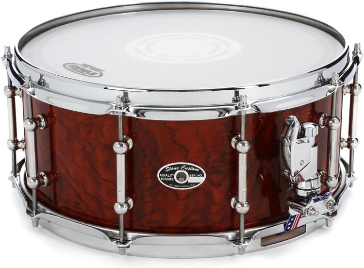 Stone Custom Drum Company Super American Bubinga Snare - 6.5