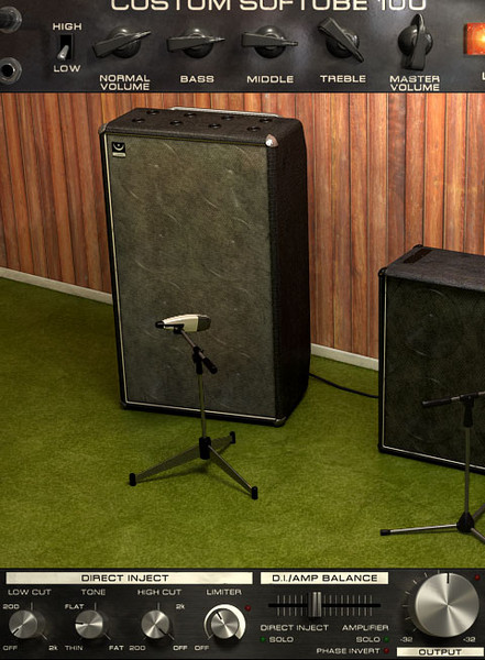 Softube Bass Amp Room Plug-in image 1