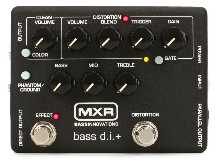 MXR M80 Bass D.I.+ Bass Distortion Pedal image 1