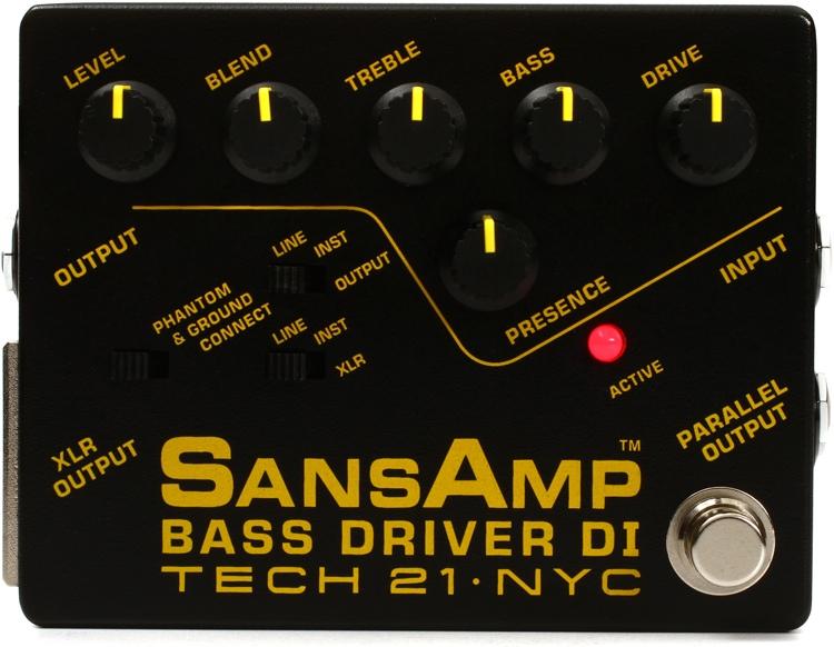 Tech 21 SansAmp Bass Driver image 1