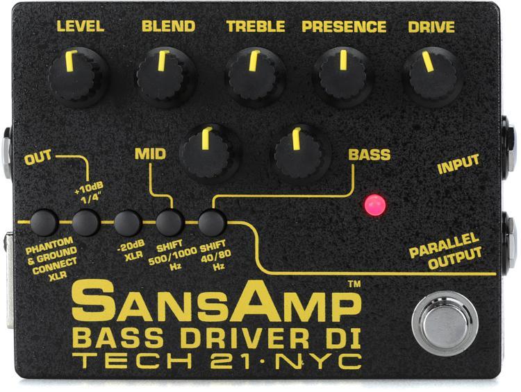 Tech 21 SansAmp Bass Driver DI V2 image 1