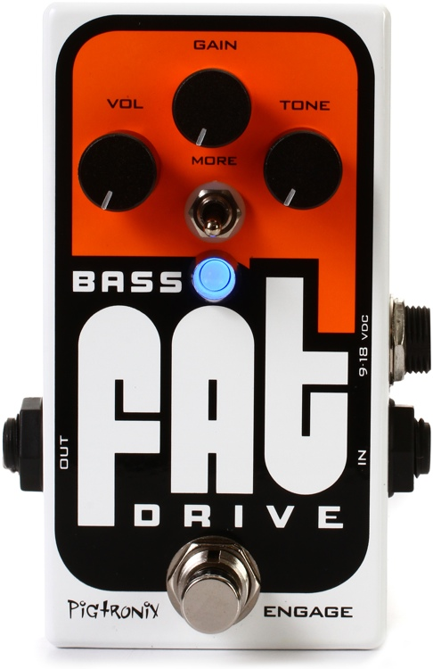 Pigtronix Bass FAT Drive Overdrive / Distortion Pedal image 1