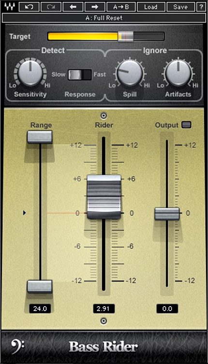 Waves Bass Rider Plug-in image 1