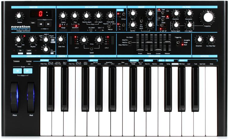 Novation Bass Station II Analog Synthesizer image 1