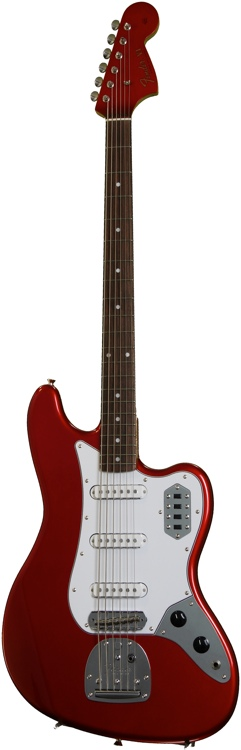 Fender 2013 Limited Edition Bass VI - Candy Apple Red image 1
