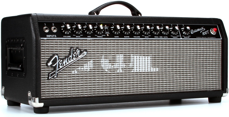 Fender Bassman 100T 100-Watt Tube Head image 1