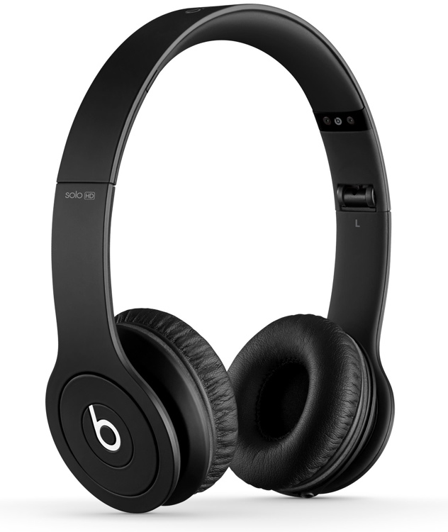 Beats Beats Solo HD Drenched in Color - Black Monochromatic image 1