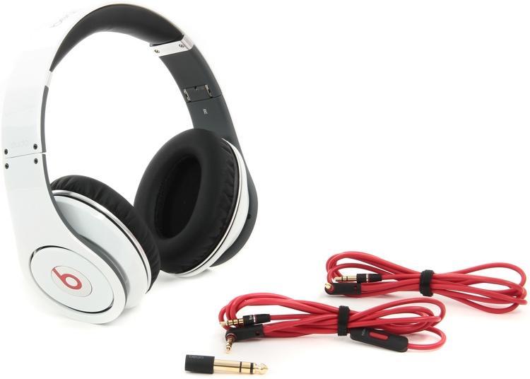 Beats Studio Headphones - White image 1