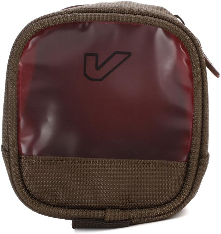 Gruv Gear Bento Utility Case, Half/Tall, Pewter/Crimson image 1