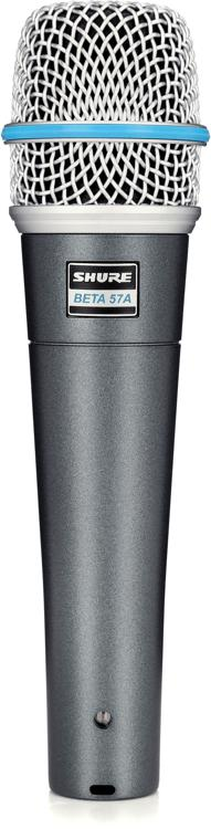Shure Beta 57A Dynamic Microphone image 1
