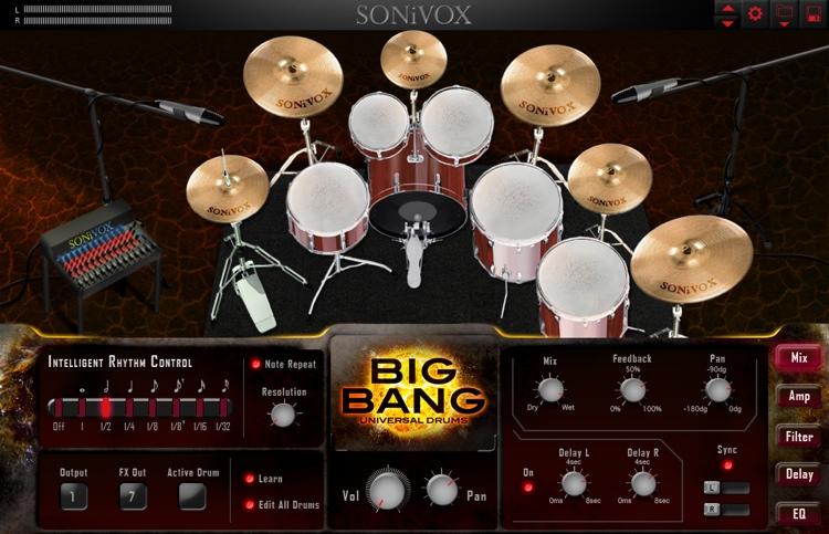SONiVOX Big Bang: Universal Drums image 1