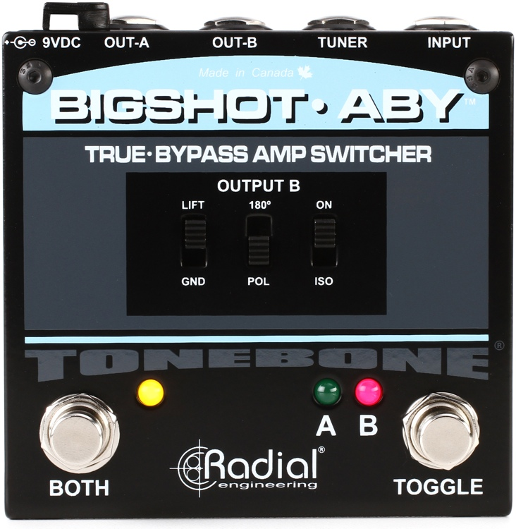 Radial BigShot ABY True-bypass Switch Pedal image 1