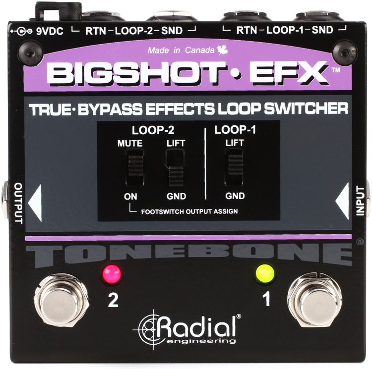 Radial BigShot EFX Effects Loop Switcher image 1