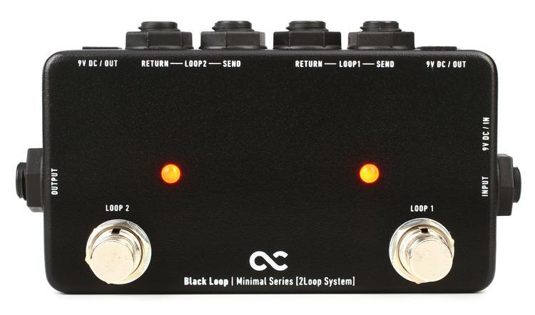 One Control Black Loop 2-loop Switcher Pedal image 1