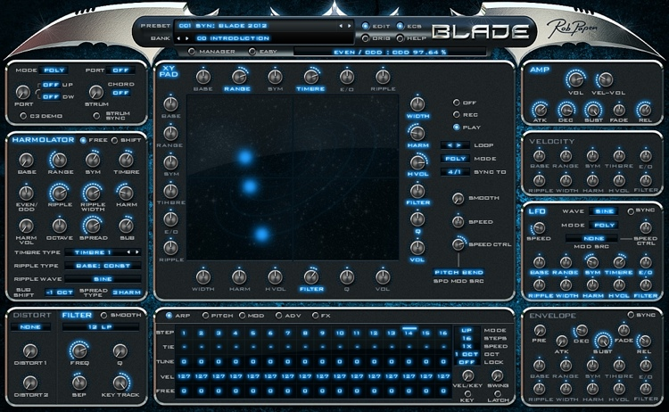 Rob Papen Blade Virtual Additive Synthesizer with XY Control image 1