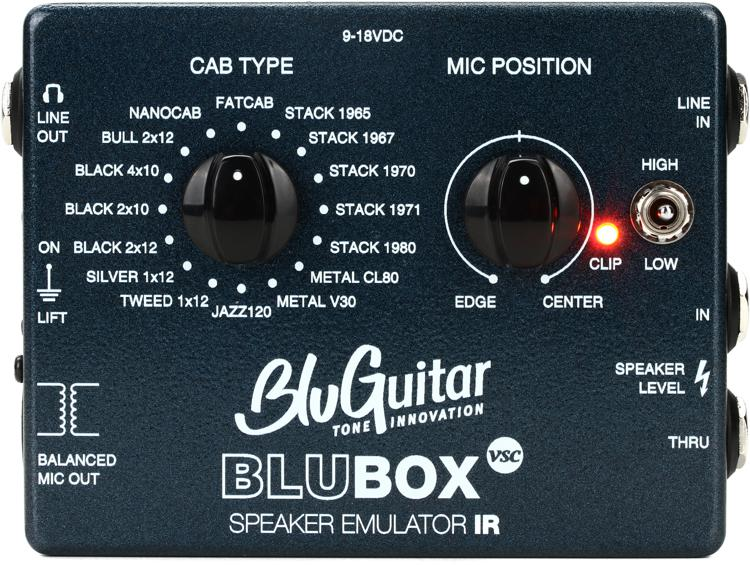 Bluguitar Blubox Impulse Response Speaker Emulator Sweetwater
