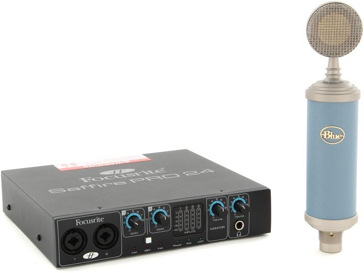 Blue Microphones Bluebird Mic Month 2013 Bundle - With Saffire Pro 24 image 1