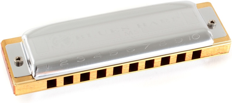 Hohner Blues Harp - Key of E Flat image 1